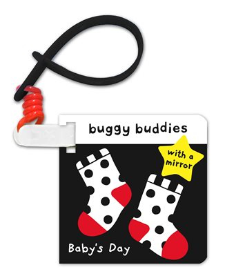 Book cover for Black and White Buggy Buddies - Baby...